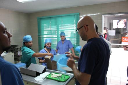 Dr Blas Rivas, McKee Chief Surgeon